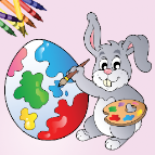 Easter Egg Coloring Book for iOS