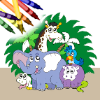 Animal Coloring Book for iOS