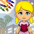 Paper Doll Coloring Book for iOS