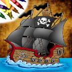 Pirate Coloring Book for iOS