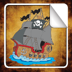 Pirate Sticker Book for iOS