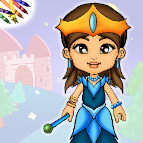 Princess Dress Up Coloring Book for iOS