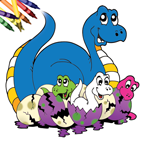 Dinosaur Coloring Book for iOS