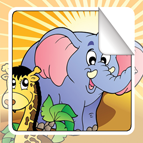Animal Sticker Book for iOS